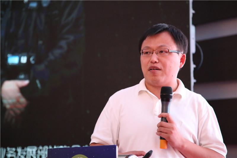 华为消费者BG业务发展部战略合作总监傅饶先生